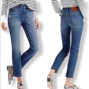 NEW J. Crew Vintage Crop Jeans